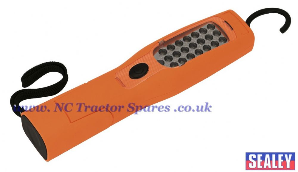 Cordless 21+5 LED Rechargeable Inspection Lamp Lithium-ion Hi-Vis